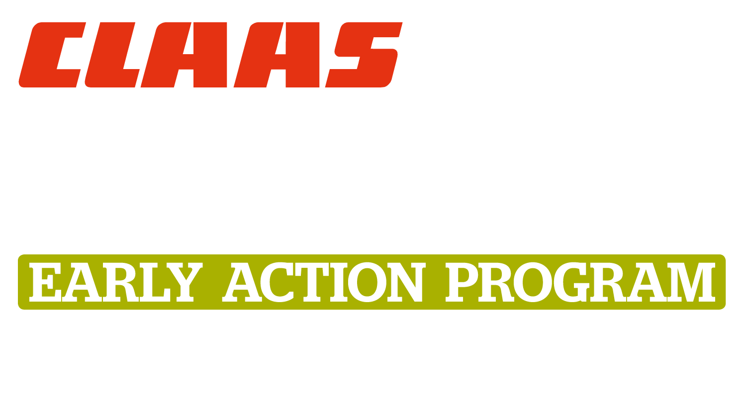 CLAAS LEXION Early Action Program